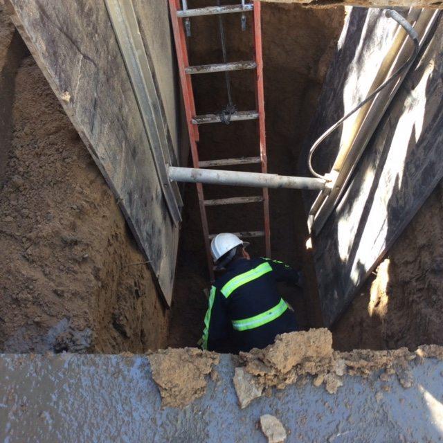 Sanitary Sewer line repair