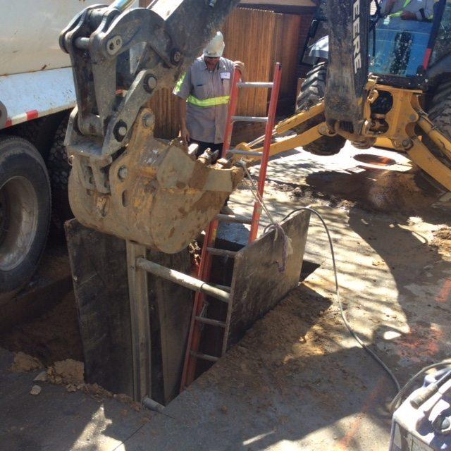 Residential water meter repair