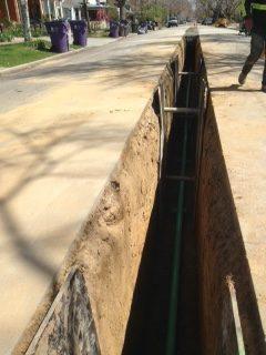 Sewer Excavation in Denver