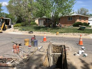 Denver Sewer Repair | Trenchless During Pic