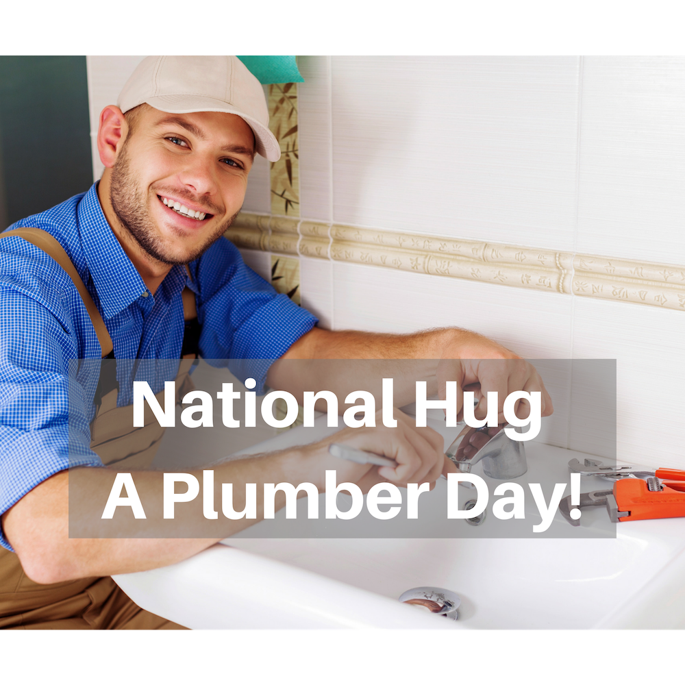 National Hug A Plumber Day Denver Sewer Repair